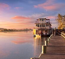 Captain Proud at Sunrise, Murray Bridge by Mark Richards