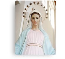 Mary of Medjugorje Canvas Print