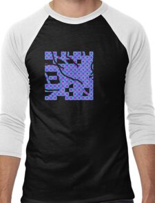 the new conjoined squares are born Men's Baseball ¾ T-Shirt