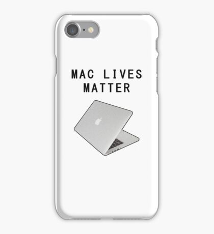 Mac Lives Matter - Filthy Frank iPhone Case/Skin