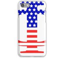 Phi Symbol American Flag Design iPhone Case/Skin