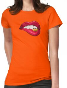 lip Womens Fitted T-Shirt