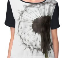 Backlit Dandelion Chiffon Top