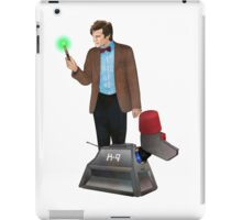 The 11th Doctor and K-9 iPad Case/Skin