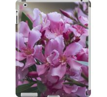 oleander in the garden iPad Case/Skin