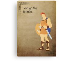 Hercules inspired design (Hercules). Canvas Print