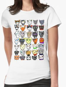 The many faces of Acorn Womens Fitted T-Shirt