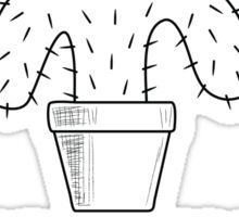 Funny Cactus #2 - no border Sticker