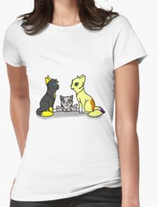 Storm Acorn and Wolfy Womens Fitted T-Shirt