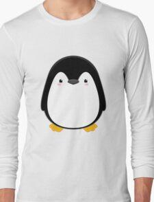 Cute Kawaii Penguin Long Sleeve T-Shirt