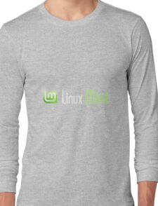 Linux Mint Long Sleeve T-Shirt