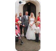 Maria & Gareth with Bridesmaids, Best Man & Ushers iPhone Case/Skin