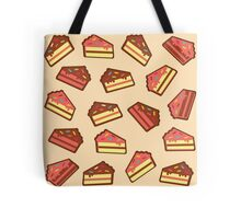 Pink Cake Pattern Tote Bag