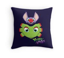Yooka Laylee fanart Throw Pillow