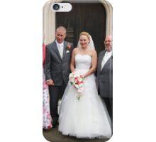 Maria & Gareth with Maria's Parents iPhone Case/Skin
