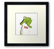 Kermit Photobomb Framed Print