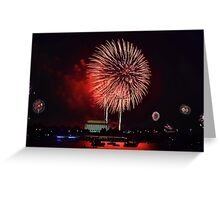 July 4th - Washington D.C. Greeting Card