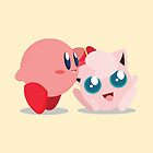 """Kirby and Jigglypuff """"Best Buds"""" Vector by ViralDrone"""