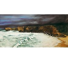 """Shipwreck coast """"Bakers Oven"""" Photographic Print"""