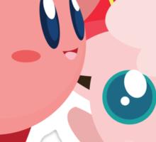 "Kirby and Jigglypuff ""Best Buds"" Vector Sticker"