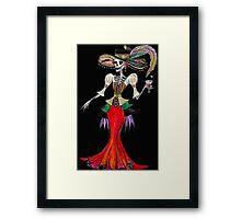 Steampunk Catrina Framed Print