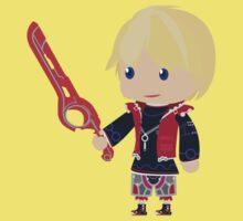 Chibi Shulk Vector Kids Clothes