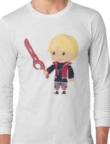 Chibi Shulk Vector Long Sleeve T-Shirt