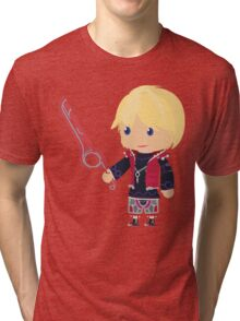 Chibi Shulk Vector Tri-blend T-Shirt