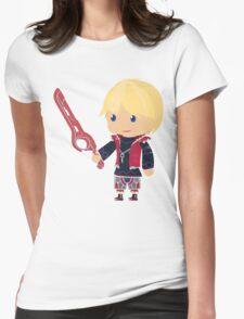Chibi Shulk Vector Womens Fitted T-Shirt
