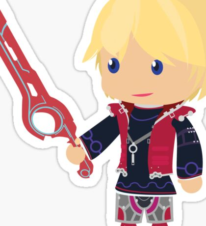 Chibi Shulk Vector Sticker