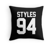 #HARRYSTYLES, One Direction Throw Pillow