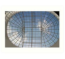 skylight glass roof Art Print