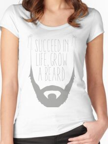 Success ! Women's Fitted Scoop T-Shirt
