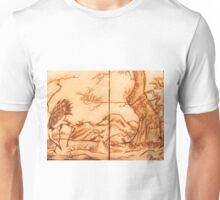 Japanese Mixed media drawing  Unisex T-Shirt
