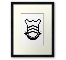 Persona 5 School Emblem/Logo Framed Print