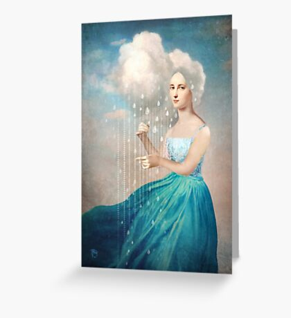 Melody of Rain Greeting Card