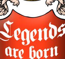 Legends November Sticker