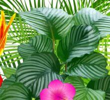 Aloha, Hawaiian Party Sticker