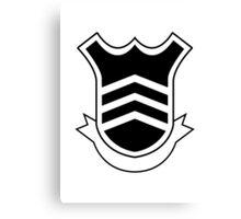 Persona 5 School Emblem/Logo - Inverted Canvas Print