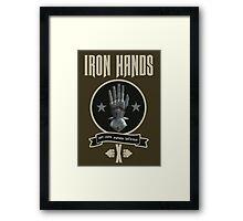 Iron Hands X - Warhammer Framed Print