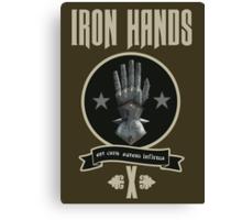 Iron Hands X - Warhammer Canvas Print
