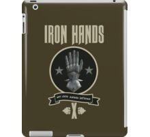 Iron Hands X - Warhammer iPad Case/Skin