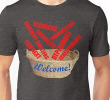 Welcome Basket Of Deplorables Catholics Rednecks Unisex T-Shirt