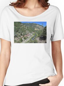Westbound Through Feather River Women's Relaxed Fit T-Shirt