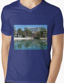 South Bank Brisbane Mens V-Neck T-Shirt