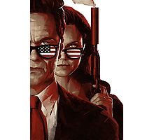 the americans Photographic Print