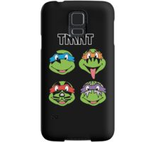 TMNT and KISS crossover Samsung Galaxy Case/Skin