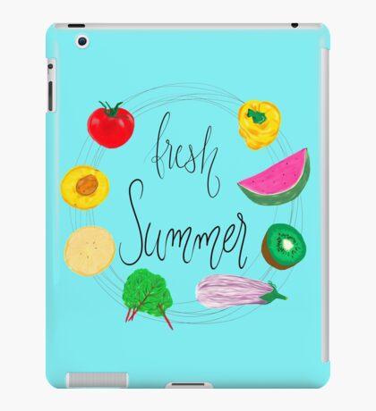 Fresh Summer - Erfolgreich Illustrator iPad Case/Skin