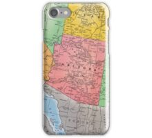 Vintage 1939 Arizona map - gift for her - gift for him - gift for parent - special memorial gift idea iPhone Case/Skin