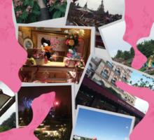Minnie Mouse in Disneyland Paris Sticker
